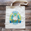 Easter Bag - Easter Bunny Tote - Easter Gifts for Toddlers - Stockberry Studio