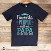 My Favorite People Call Me Grandpa Shirt with Grandkids Names - Stockberry Studio