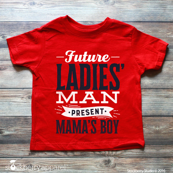 Future Ladies Man Shirt - Boys Valentine's Day Shirt - Stockberry Studio
