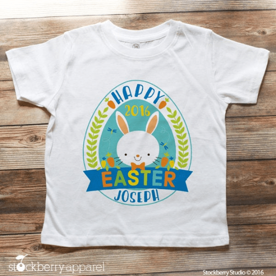 Happy Easter Shirt - Stockberry Studio