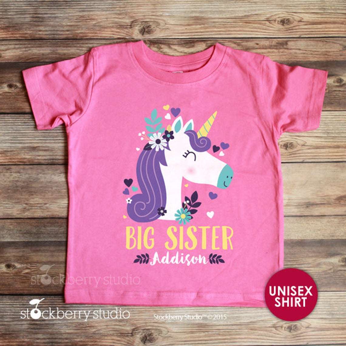 Unicorn Big Sister Shirt