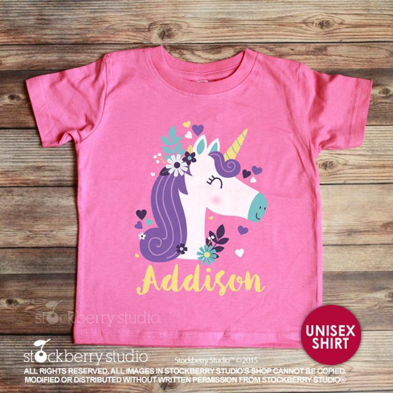 Unicorn Shirt - Stockberry Studio