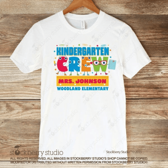 Teacher Crew Shirt (Any Grade) - Teacher Team Shirt - Stockberry Studio