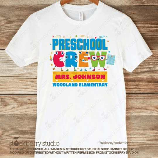 Teacher Crew Shirt (Any Grade) - Teacher Team Shirt