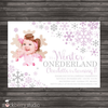 Winter Onederland Birthday Invitation - Stockberry Studio