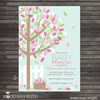 Spring Baby Shower Invitation - Stockberry Studio