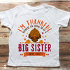 Thanksgiving Big Sister T-Shirt