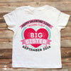 Valentine's Day Big Sister Pregnancy Announcement Shirt - Stockberry Studio