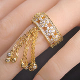 Luxury Zirconia Tail Adjustable Ring