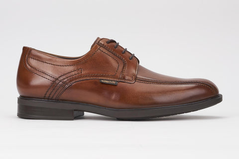 Mephisto Men's Fabio Chestnut Crust 22078 bicycle toe dress oxford side view