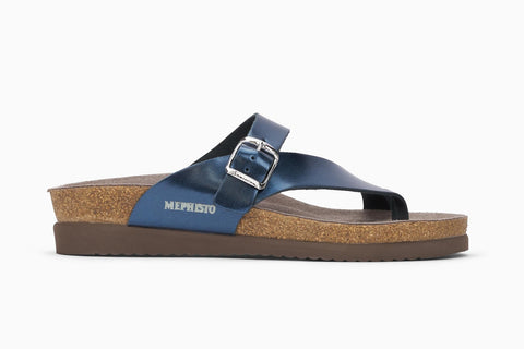 Mephisto Women's Helen Slip On Thong Style Sandal Side View