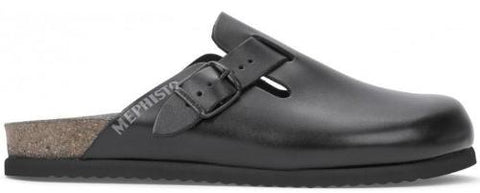 Mephisto Men's Nathan Adjustable Cork Clog Side View