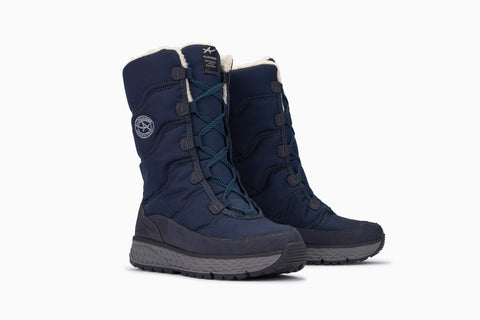 Opera Waterproof Snow Boots - Blue