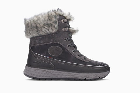 Mephisto Allrounder Orkano-Tex Women's Winter Hiking Boot Side View
