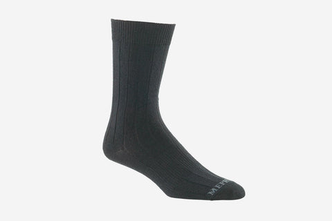 Mephisto Women's Phoenix Sock Black profile view