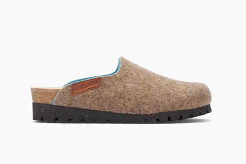 Mephisto Women's Thea Wool Clog Slip On Side View