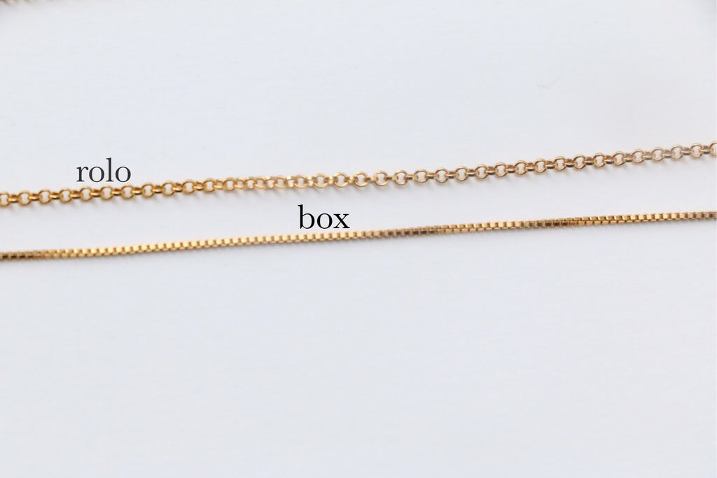 Tiny Script Name Necklace