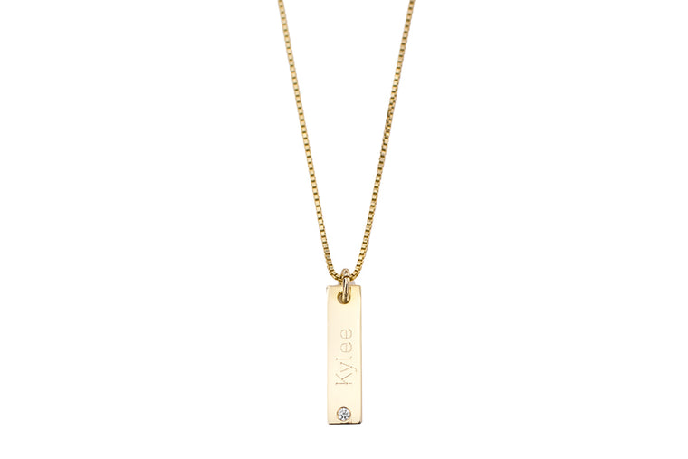 Joie Diamond Necklace