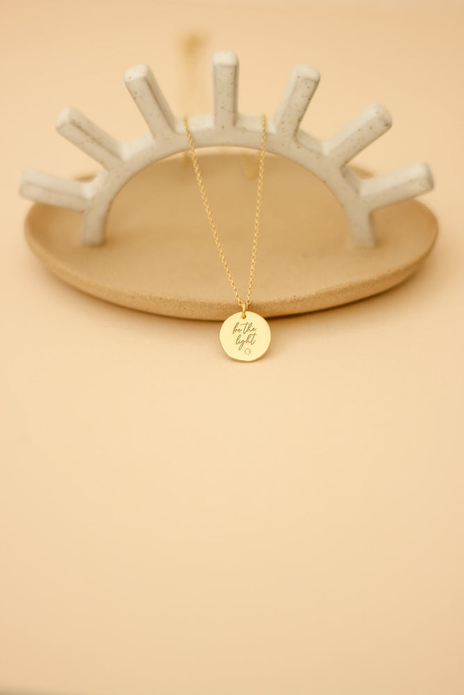 'Be the Light' Necklace
