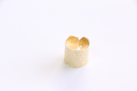 Gold Cuff Rings