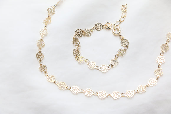 Bella Rosa Choker Necklace