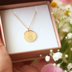 Load image into Gallery viewer, Amma Disc Necklace