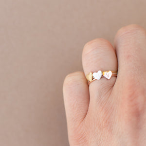 Esme Initial Stackable Ring