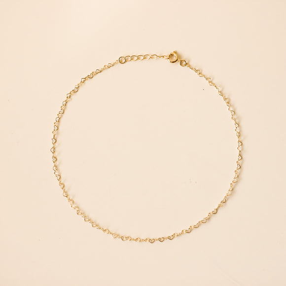 Amara Heart Choker Necklace