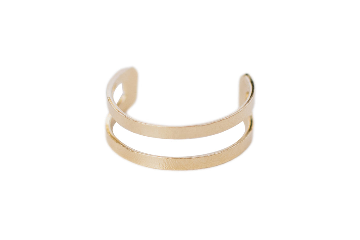 Double Lined Ring Cuff