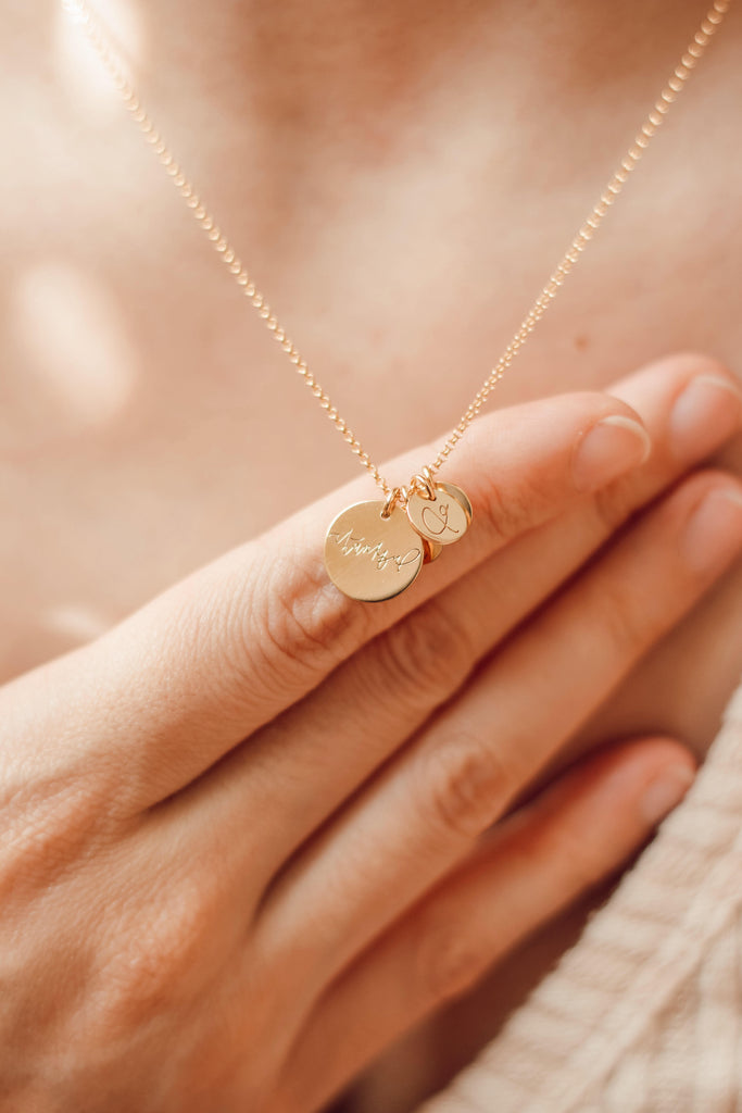 Blessed Disc Necklace