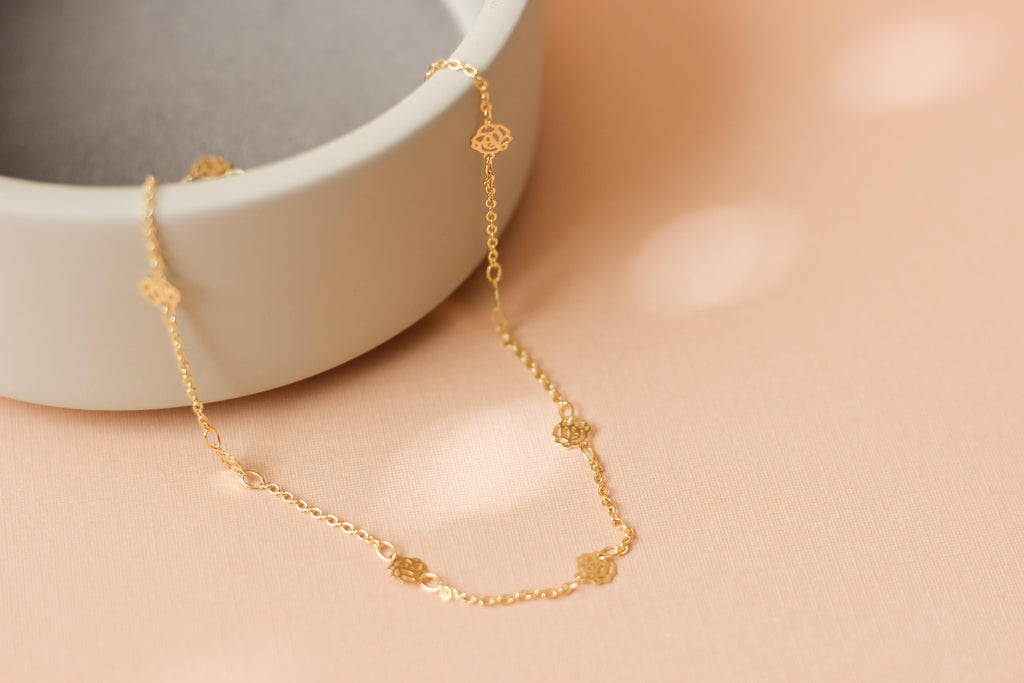 Rosa Choker Necklace