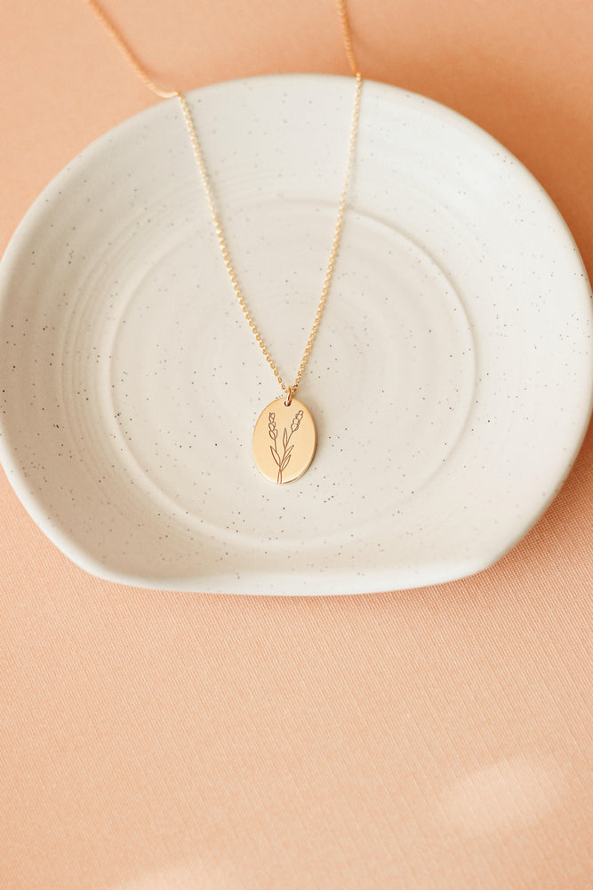 Load image into Gallery viewer, Lavender Necklace