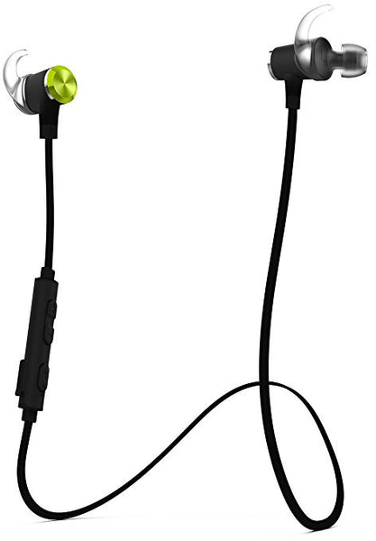 AYL Bluetooth Headphones Wireless Sports In-Ear Noise Cancelling Sweatproof Headset with Built-In Mic Sound - Lightweight & Magnetic - Maximum Comfort Earbuds