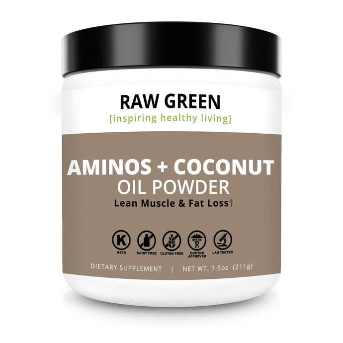 Aminos + Coconut Oil (PRE/POST WORKOUT)  Pre-order available 12/15/18