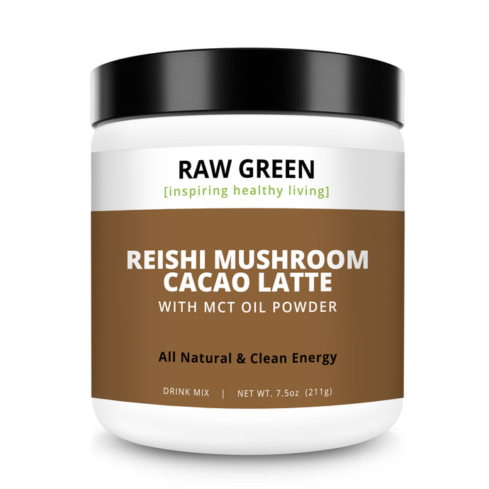 Reishi Mushroom Latte with MCT Oil Powder