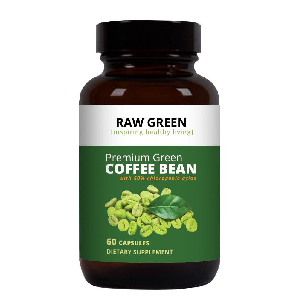 Raw Green Premium Green Coffee Bean Weightloss Supplement