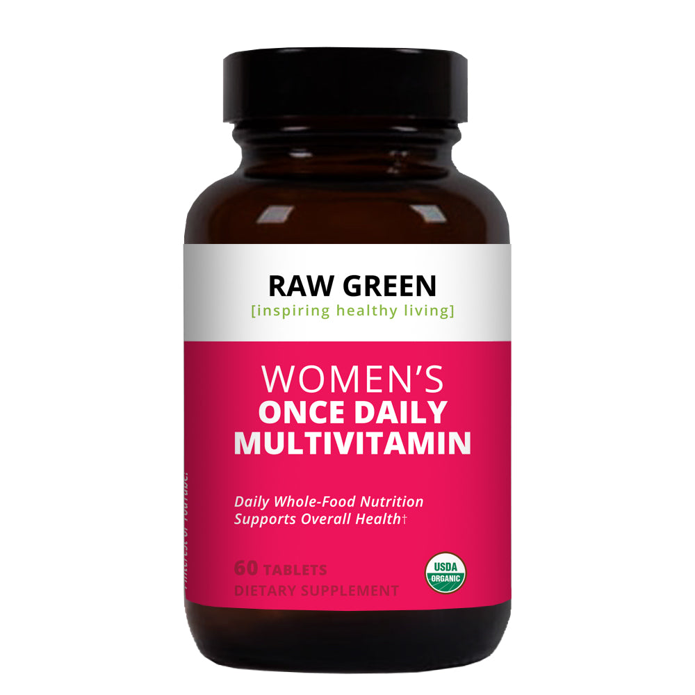 Women's Daily Organic Multivitamin