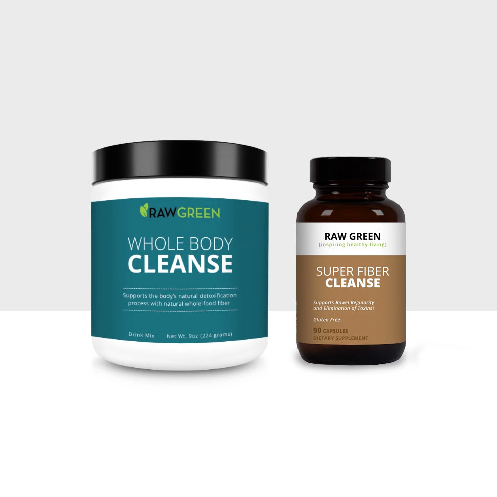 Whole Food 30 Day Cleanse + Fiber
