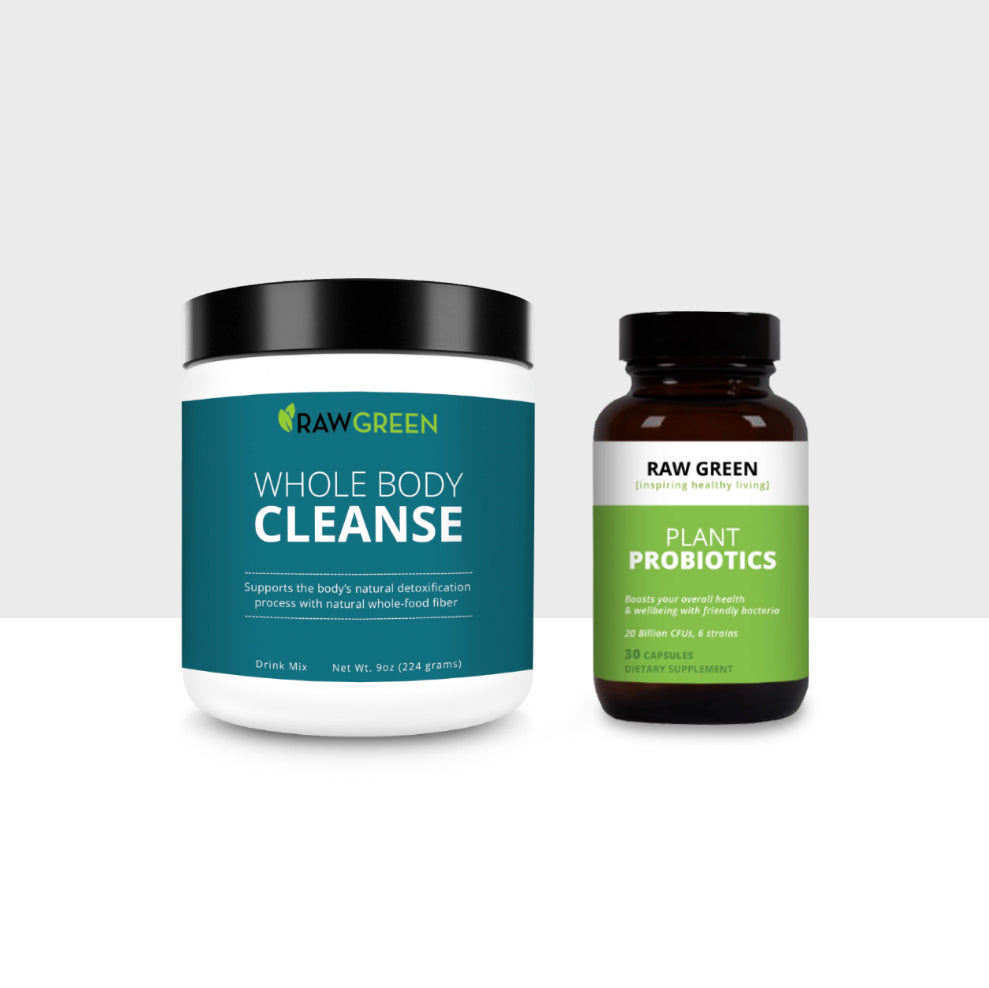 Whole Food 30 Day Cleanse + Probiotic
