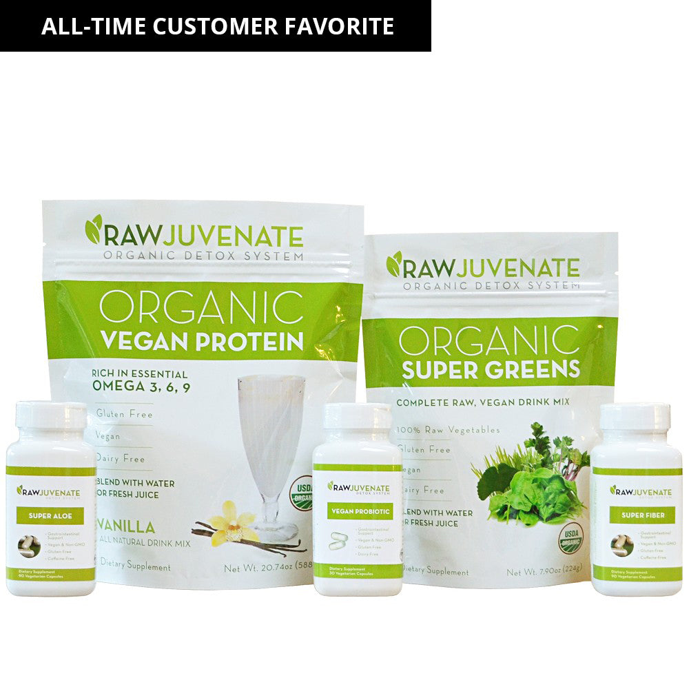 RAWJuvenate Complete Detox | 4 Week System