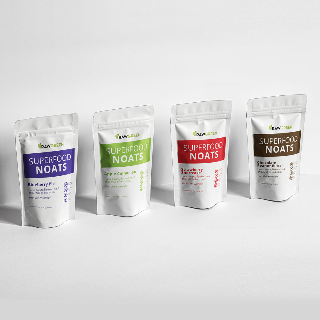 Superfood Noats - Variety Pack
