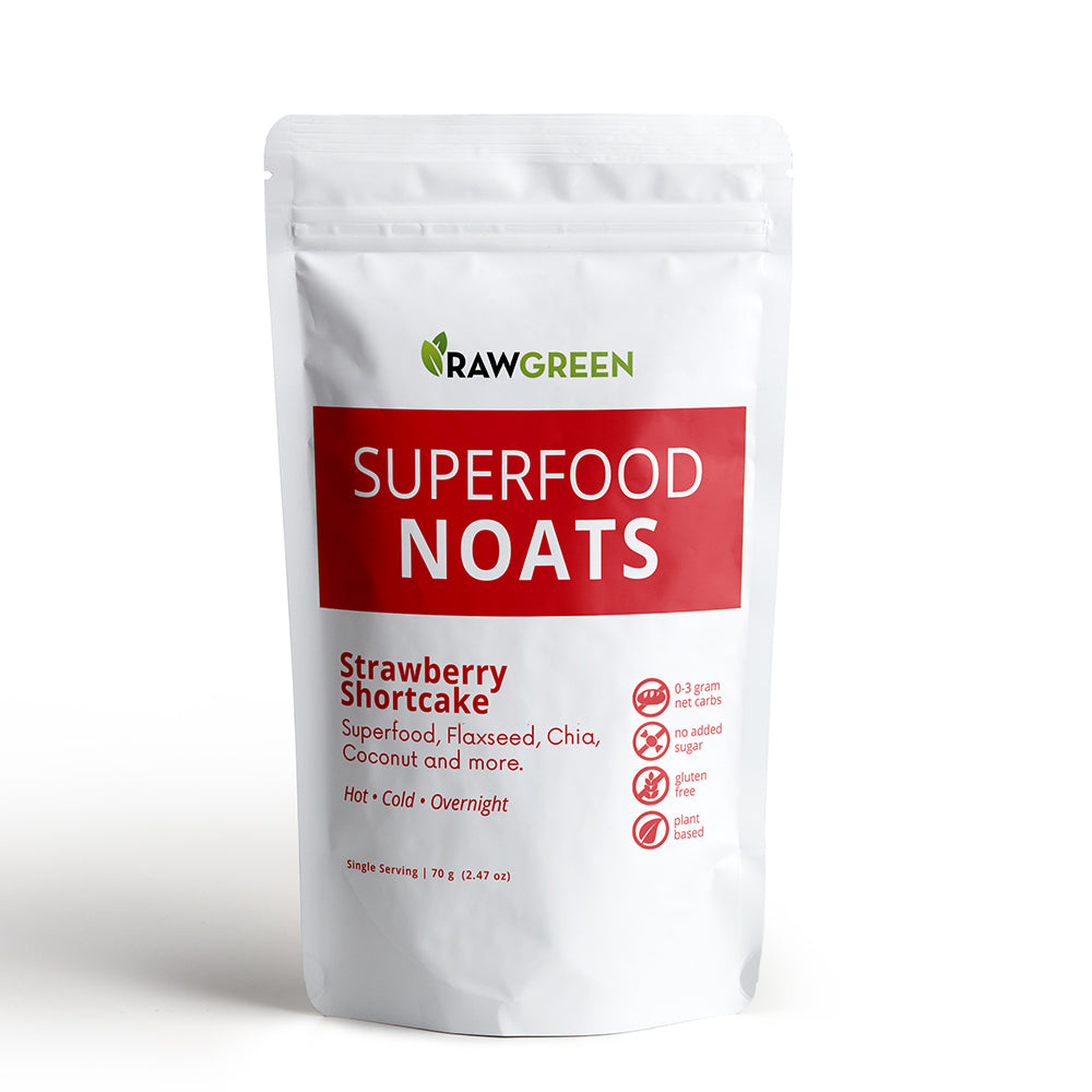 Superfood Noats - Strawberry Shortcake