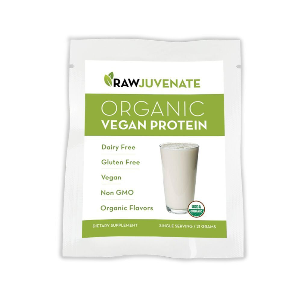 Organic Clean Plant Protein VANILLA (Single Serving)