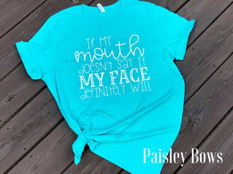 If My Mouth Doesn't Say It - Paisley Bows