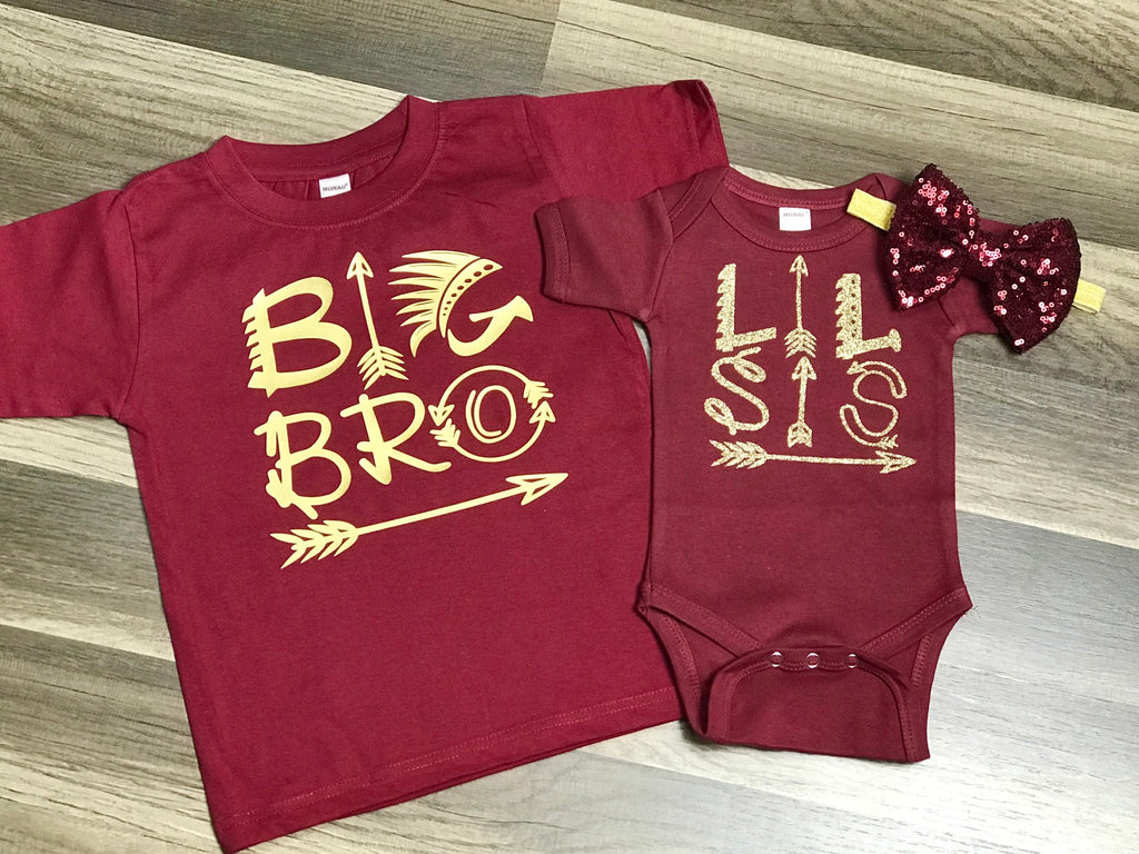 f25b7fcf Big Brother and Little Sister Outfits - Paisley Bows