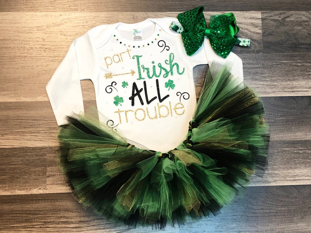 Part Irish All Trouble - Paisley Bows