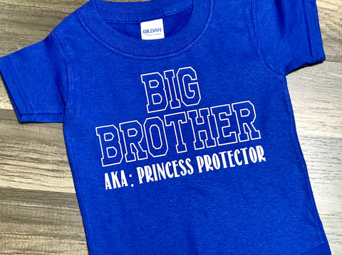 Big Brother AKA Princess Protector - Paisley Bows