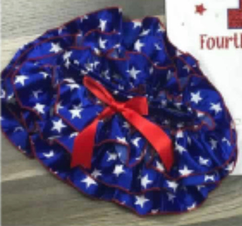 Patriotic Skirted Bloomers - Paisley Bows
