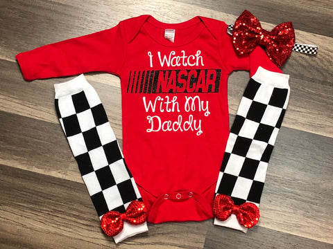 I watch NASCAR with my Daddy