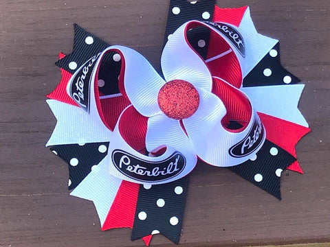 Peterbilt Hair Bow Or Headband - Paisley Bows